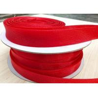 Smooth Surface Flame Retardant Cable Sleeve Hot Knife Cutting For Management / Bundling Manufactures