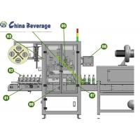 TB-150 Automatic Labeling Machine PVC Label Bottle Sleeve Shrinking High Efficiency Manufactures