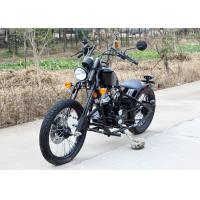 Manual Transmission 250cc Bobber Chopper Custom Chopper Motorcycles With Signal Lights Manufactures