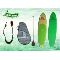 China ocean standing Bamboo Paddle Boards Slight Nose Concave and Vee on sale