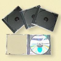 Standard CD Jewel Cases, Available in Black Manufactures
