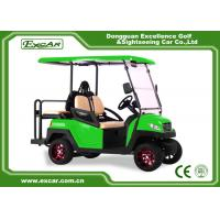 China 3 - 4 Seats Electric Golf Car 48 Voltage Battery Powered With CE Approved on sale