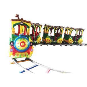 China Mini 2kw Amusement Park Electric Trains / Electric Train Ride 220v Voltage on sale
