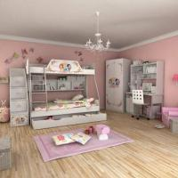 E0 Grade Children Bunk Bed Furniture, Home Product, Princess, Disney, Ladder Chest, Bed Chest Manufactures