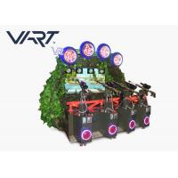 Interactive Motion 9D Game VR Shooting Simulator For Four Or Six Players Manufactures