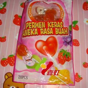 China Heart Lollipop on sale