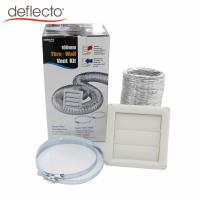 Bathroom Venting Dryer Vent Duct Cleaning Kit / Aluminum Flexible Air Duct Manufactures