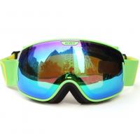 Quality Detachable Lightweight Reflective Snowboard Goggles With 100% UV Protection for sale