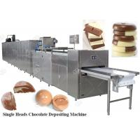 China Fully Automatic Chocolate Depositing Machine Moulding Production Line Price China on sale