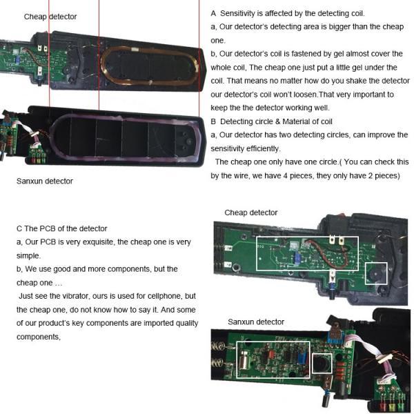 hand held metal detector metal detector gp-140