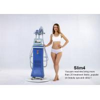5 in 1 system Vertical Vacuum Cavitation Body Sculpting Slimming Machine with 4 handles Manufactures