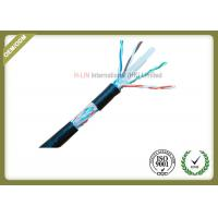 China 8 Conductors Network Fiber Cable , Cat6 SFTP Cable With 0.58mm Diameter Pass Fluke Test on sale