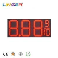 16 Inch Led Digital Natural Gas Price Sign Pylon Billboard for Outside Manufactures