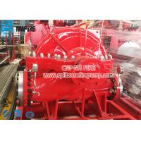 1000gpm UL And FM Listed Horizontal Centrifugal Split Case Fire Pump With Engine Manufactures