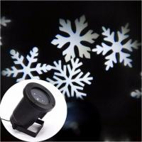 Outdoor Laser Christmas Lights Waterproof White Snowflake Landscape Projector for Garden, Lawn and Holiday Decoration (w Manufactures