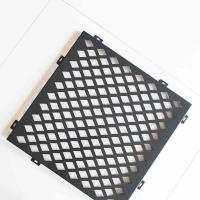Diamond Hole Stainless Steel Perforated Plate Good Sound Absorption Effect Manufactures