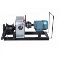 220 Volt Cable Pulling Tools Electric Engine Powered For Underground Power Site Manufactures