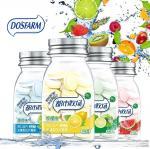 Sea Salt Or Fresh Lemon Flavor Sugar Free Mint Candy /  No Fat Vitamin C Snacks Manufactures
