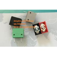 China Color barrier terminal blocks, colorful termina blocks, 9.5mm pitch 300V 15A on sale