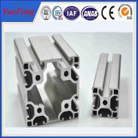 Industrial extruded aluminum profiles with customized surface treatments and alloy grade Manufactures
