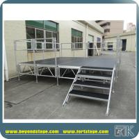 China Aluminum stage frame for sale temporary stage assemble stage on the sale on sale