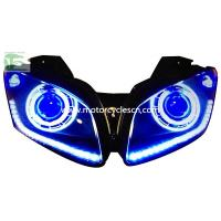2013 YAMAHA YZF-R15 HID Head light Motorcycle Parts LED Drag Racing Original Head Light Bl Manufactures