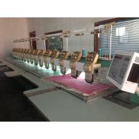 12 18 20 Needle Tajima Embroidery Machine , Tajima 6 Head Embroidery Machine Manufactures