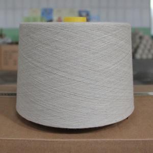 Plastic Core High Tenacity Cotton Linen Blend Yarn 15Ne Grade A Manufactures