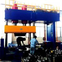 CE Approved Hydraulic Forming Machine , Cold Forming Elbow Beveling Machine Manufactures