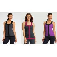 Workout Vest Running Wear Womens Sport Tank Tops in Grey , Blue , Red , Rose Manufactures