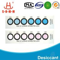 DMF Free Six Dots Blue To Pink Humidity  Indicator Card For  Packages of  Electronics Manufactures