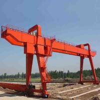 China Quayside Portal Gantry Crane To Lift Shipping Container 40FT 20FT Large Span on sale