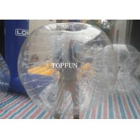 1.0mm PVC Transparent Human Bumper Balls Heat Seal Airtight Type Manufactures