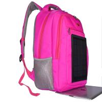 3.5W Nylon Backpacking Solar Charger , 6V Womens Backpack With Built In Charger Manufactures
