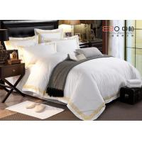 Hotel Bed Linen White Color And 60S With 100% Cotton Or Poly/Cotton Manufactures