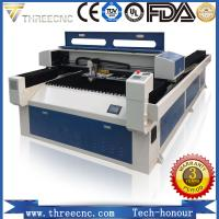 Cost price metal laser cutting machine price for metal&nonmetal TL2513-150W, THREECNC. Manufactures