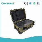 High Efficiency Solar Power Inverter Power Backup 12v 53ah Battery With Buggage Bag Manufactures