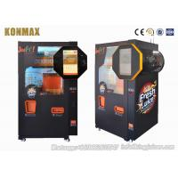 China Automatic Commercial Fresh Fruit Orange Juice Vending Machine With Nfc , Low Noise on sale