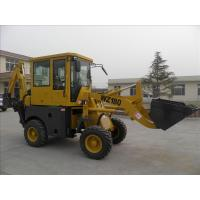 China Four Wheel Tractor Loader Backhoe With Cummins Engine 0.9cbm Bucket 8260kg on sale