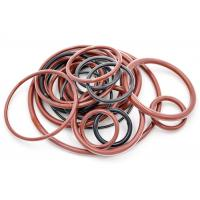 China FEP PFA Clear Coating FEP O Ring Encapsulated FKM / Silicone High Temperature Resistance on sale