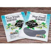 Pistachio Nut Custom Food Packaging Bags / Heat Seal Zip Pouch With Gravure Printing Manufactures