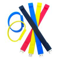Various colors 128MB - 16GB Wristband USB Flash Drive with RoHS certification ( MY-UWB01) Manufactures