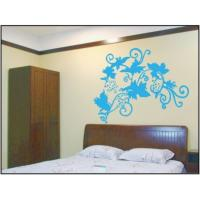 China Blue Grape Nature Wall Decals / Bedroom Wall Decals , 100microns Thickness on sale