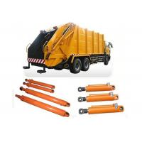 rubbish collector truck use customized double action hydraulic cylinder Manufactures