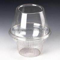 Disposable Cup in Various Sizes, Made of PET Material, Ideal Packing for Icecream Service Manufactures