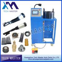 China Auto Machinery Air Suspension Hydraulic Hose Crimping Machine For Air Shock Spring on sale