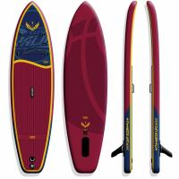 Quality PVC Rainforced DWF Wide Stand Up Paddle Board Easy Handling For Yoga for sale