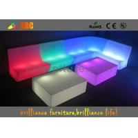 Remote Control LED Sofas ,  RGB Light Furniture Sofa Set For Party Manufactures