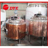 100L Copper Home Brew Kits , Professional Beer Brewing Equipment Manufactures