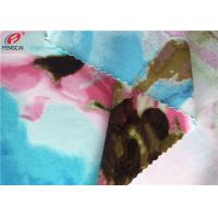 Printed Nylon Spandex Fabric Stretch Bathing Suit Warp Knitted Fabric Manufactures